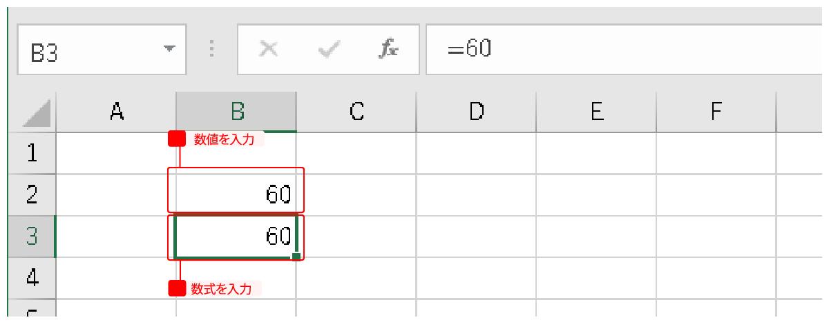 数値と数式